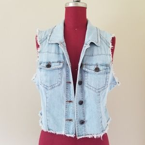 Tinseltown Denim Vest